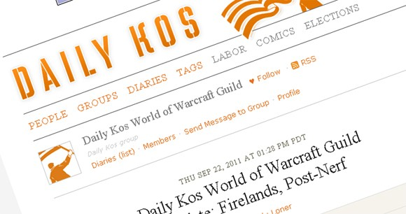 Daily Kos WoW guild