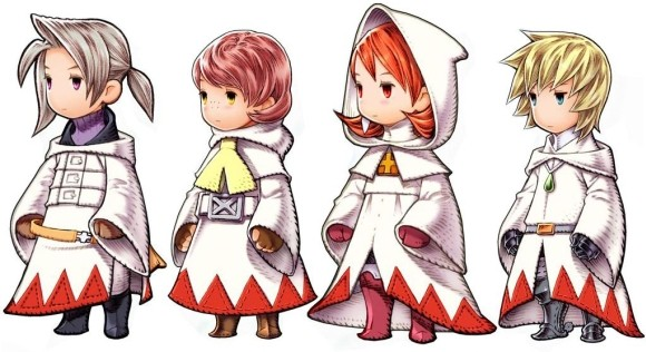 final fanatsy III white mages