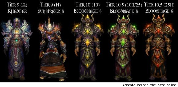mage tier sets