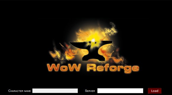 WoW Reforge website.
