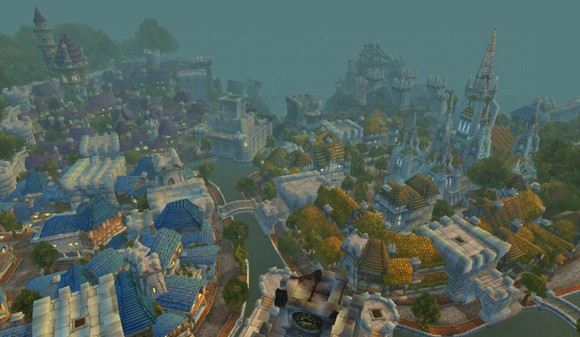 View from Stormwind Keep