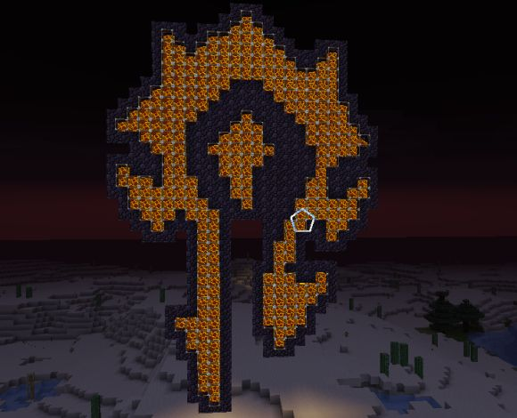 minecraft horde symbol