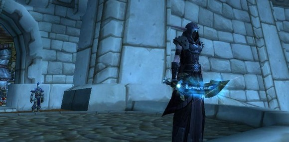Night Elf death knight