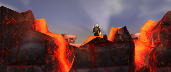 Lodur in stormwind at sunrise