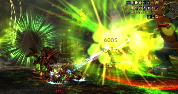 New Lightning Bolt spell effect vs. Mannoroth