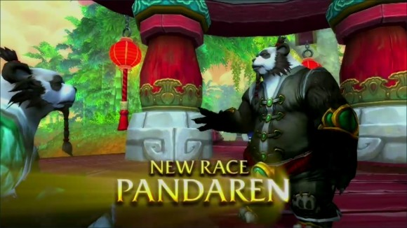 Blizzcon cinematic announces pandaren