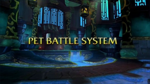Blizzcon cinematic announces pet battle system