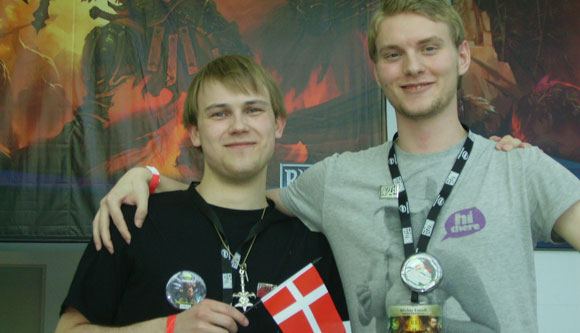 Blizzard fans from Denmark