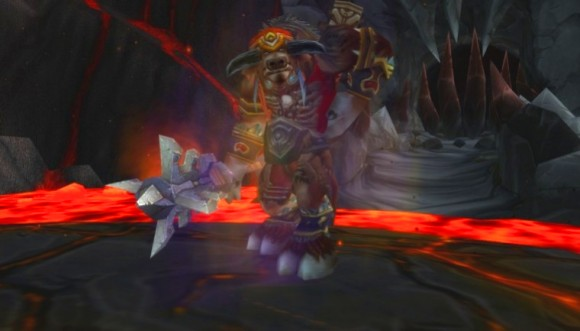 Echo of Baine in End Time.