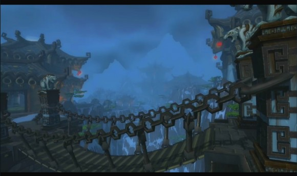 Bridge in Pandaren Temple
