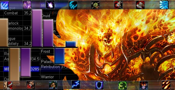 Firelands DPS chart