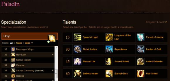 wow paladin holy pvp talent 335.