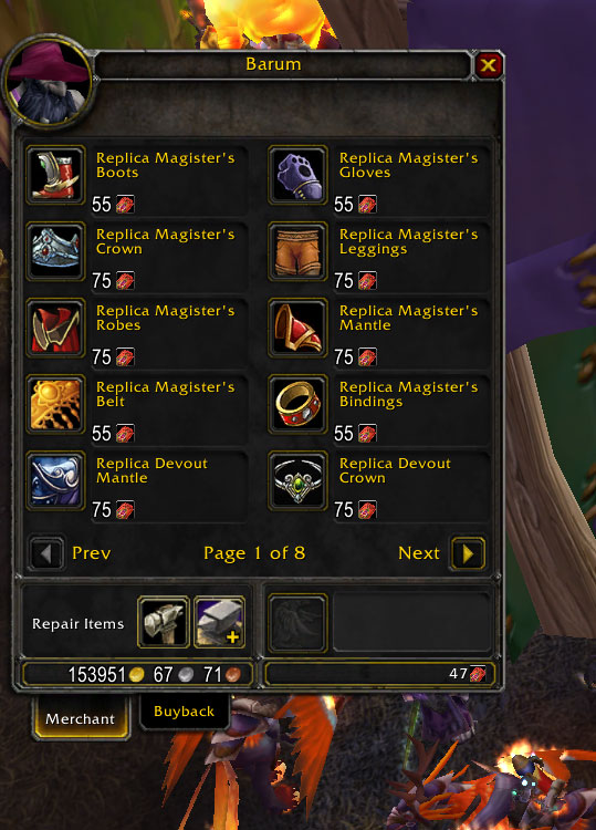 how to create heirlooms on wow