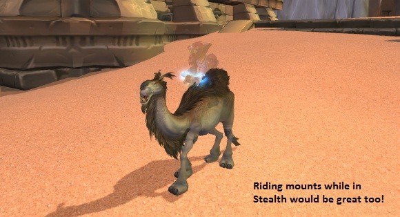 stealth mount