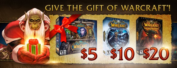 World of Warcraft holiday sale is crazy