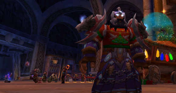 Restoration shaman in ugly sweater