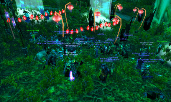 Lunar Lunacy in Moonglade