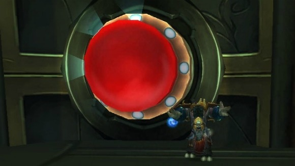 Mimiron's big red button -- do not push