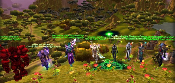 Leaders gathering in Nagrand