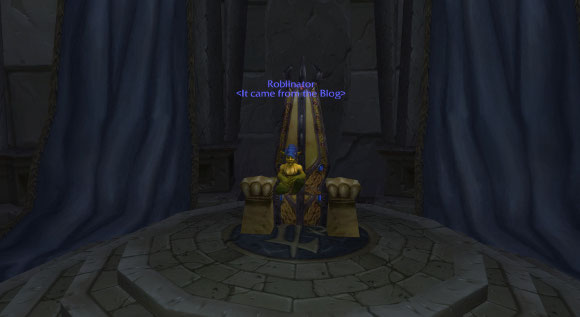 Goblin in the Throne Room