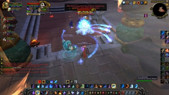 Mage using Frozen Orb