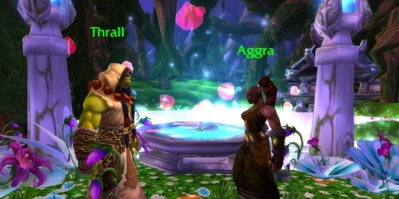 Thrall and Aggra