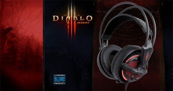 Review Steelseries Diablo III headset shines ANY