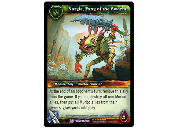 Tomb of the Forgotten sneak peek at Nargle, Fang of the Swarm