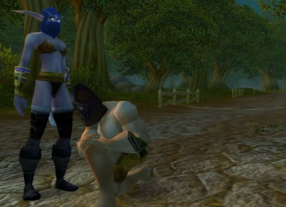 Around Azeroth A public display of lack of affection WEDNESDAY