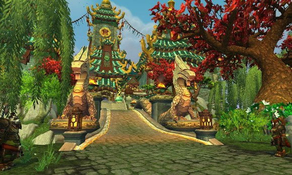 Mists of Pandaria Beta Jade Forest going offline for extended period