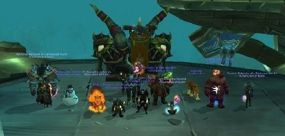 Ruin's raid team beats Blackhorn