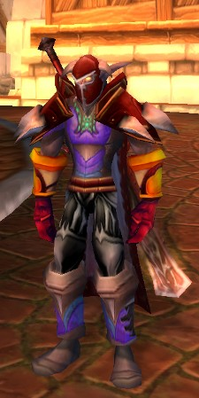 Transmog your way into a classic WoW plate DPS clownsuit