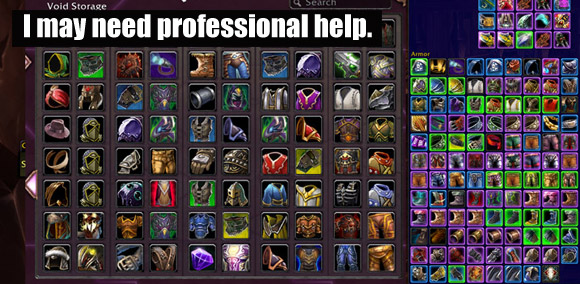 Personal preparation for Mists of Pandaria