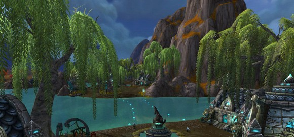 Mists of Pandaria Beta Kun Lai Summit