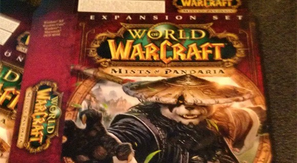 Mists of Pandaria box cover revealed