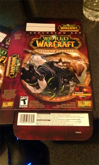 Rumor Mists of Pandaria box revealed