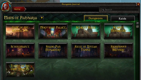 Mists of Pandaria Beta All heroics open for testing