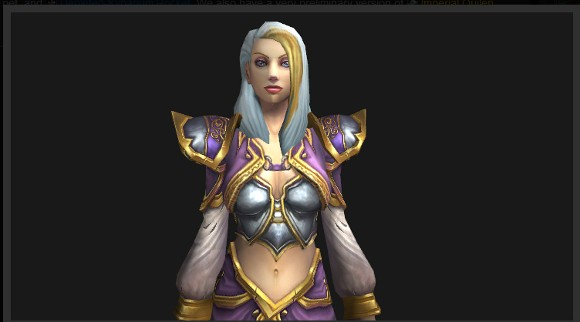 Mists of Pandaria Beta Jaina Proudmoore gets a new model
