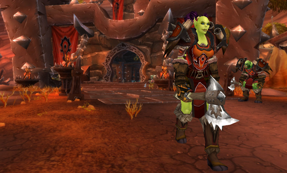 Remixing the Orgrimmar Guard for transmogrification