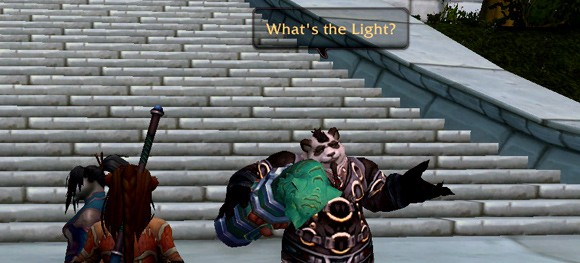 What does your pandaren character know SAT