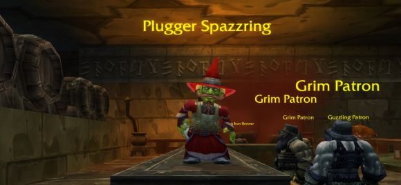 Plugger Spazzring is ready for your drink order