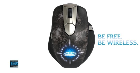 SteelSeries announces World of Warcraft Wireless Mouse at E3
