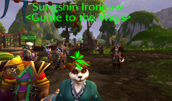 Mists of Pandaria Beta Sungshin Ironpaw powerlevels your cooking skill from 1 to 525