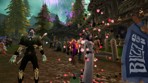 In-game wedding