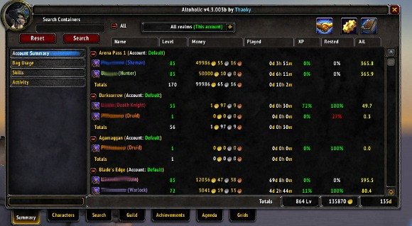 Addon Spotlight Alt Management Addons THURS