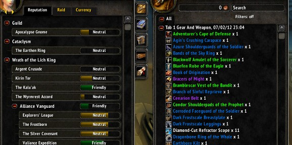 Alt Management Addons