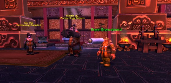 Mists of Pandaria Beta The best Brann Bronzebeard appearance ever ANY