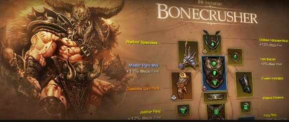 Diablo III character profiles preview now up