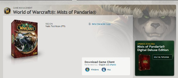 Speculation Mists of Pandaria will have a digital deluxe version