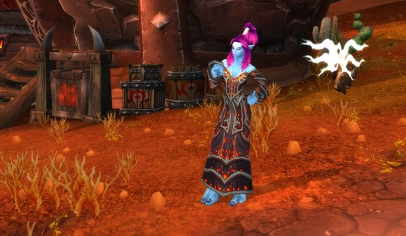 Troll shaman proves a lady can never have too many dresses